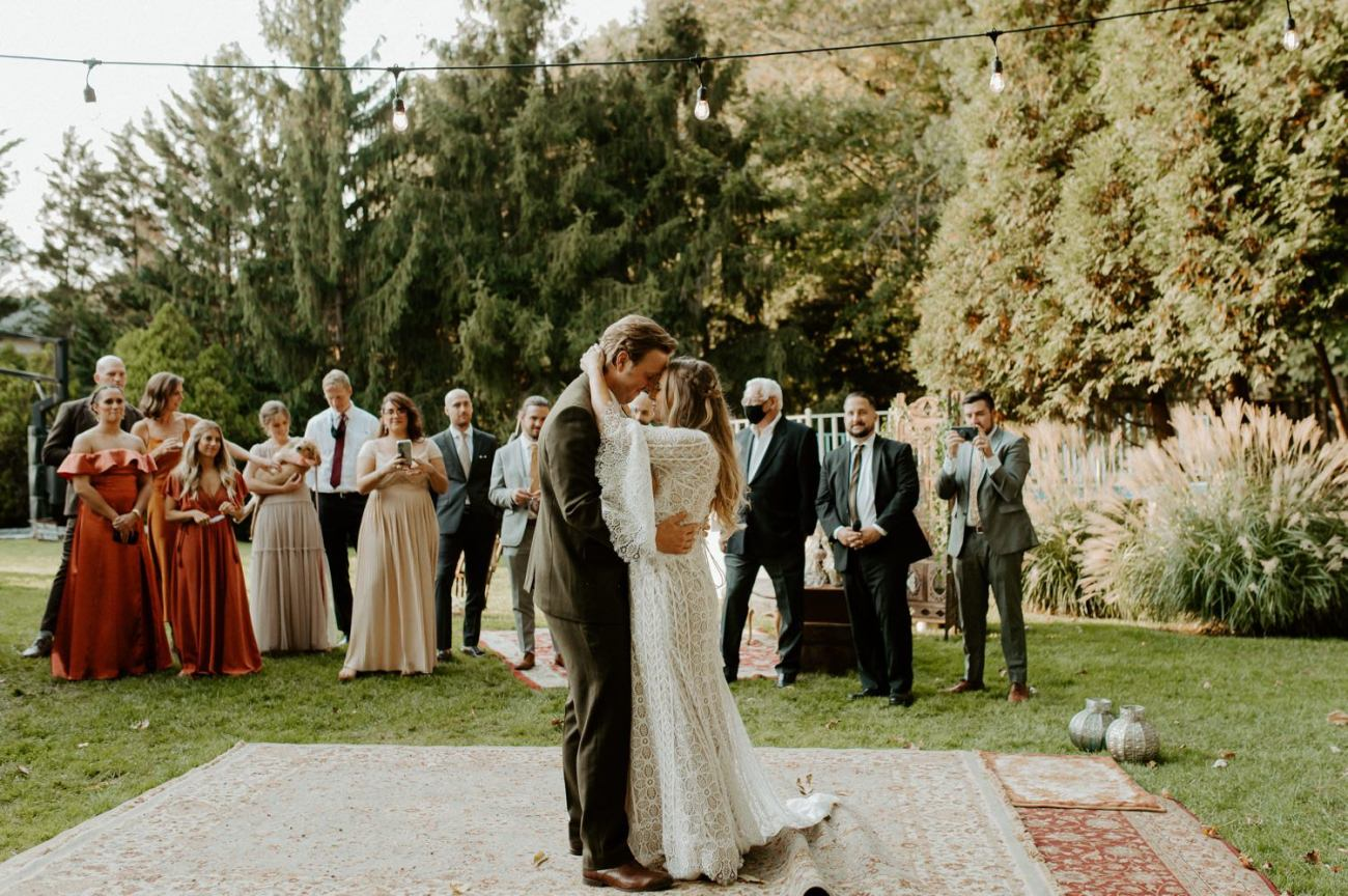 Vintage Boho Diy Backyard Wedding In New Jersey Anais Possamai Photography 096