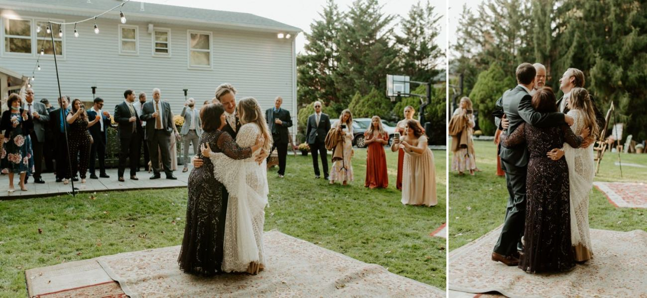 Vintage Boho Diy Backyard Wedding In New Jersey Anais Possamai Photography 098
