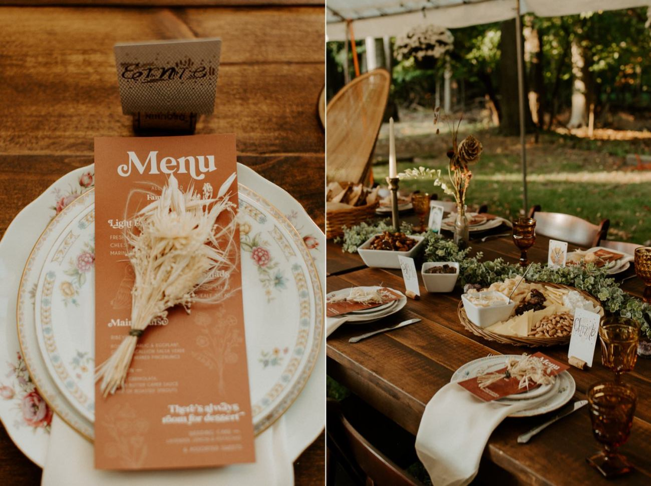 Vintage Boho Diy Backyard Wedding In New Jersey Anais Possamai Photography 109