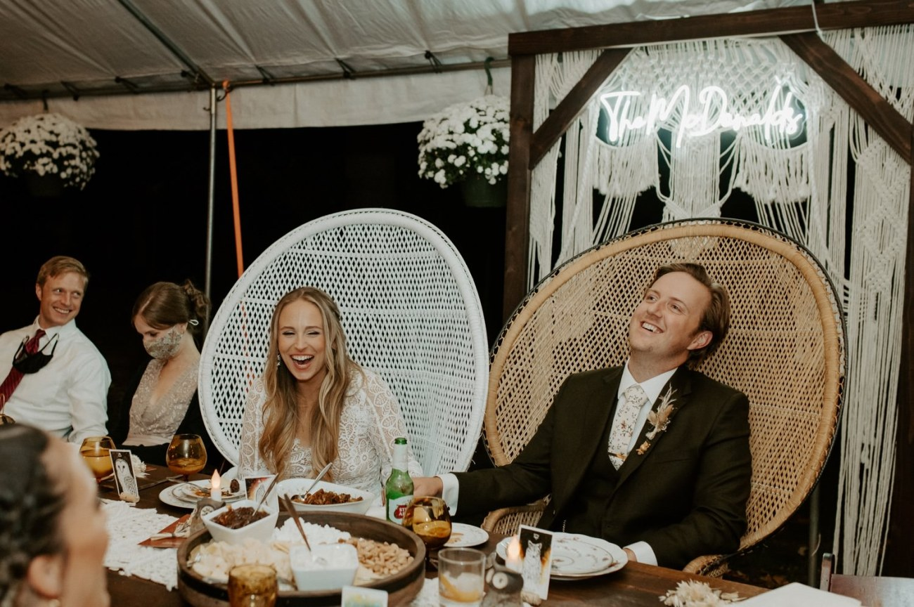 Vintage Boho Diy Backyard Wedding In New Jersey Anais Possamai Photography 114