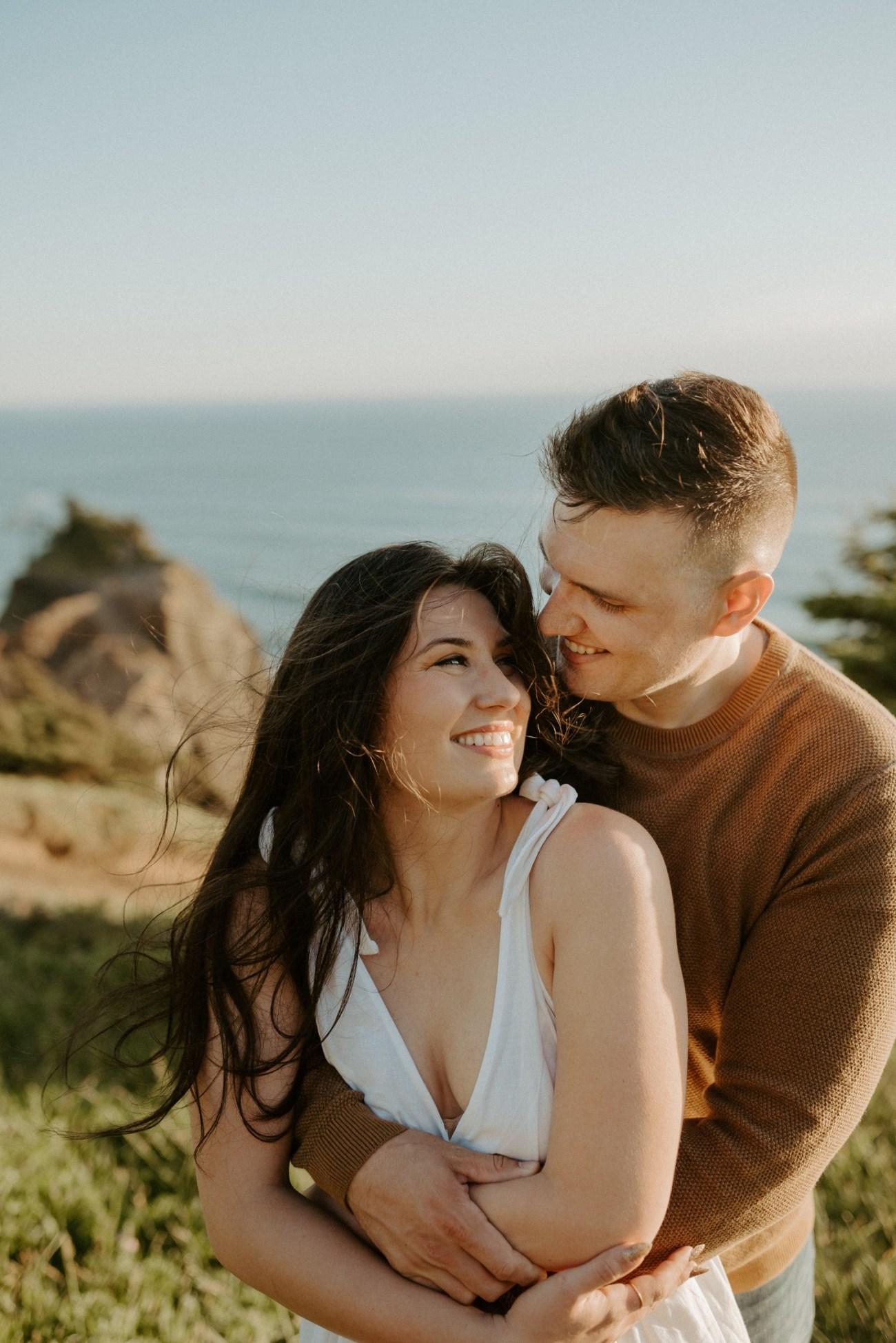 Oregon Coast Gods Thumb Engagement Session Bend Oregon Wedding Photographer Anais Possamai Photography 10