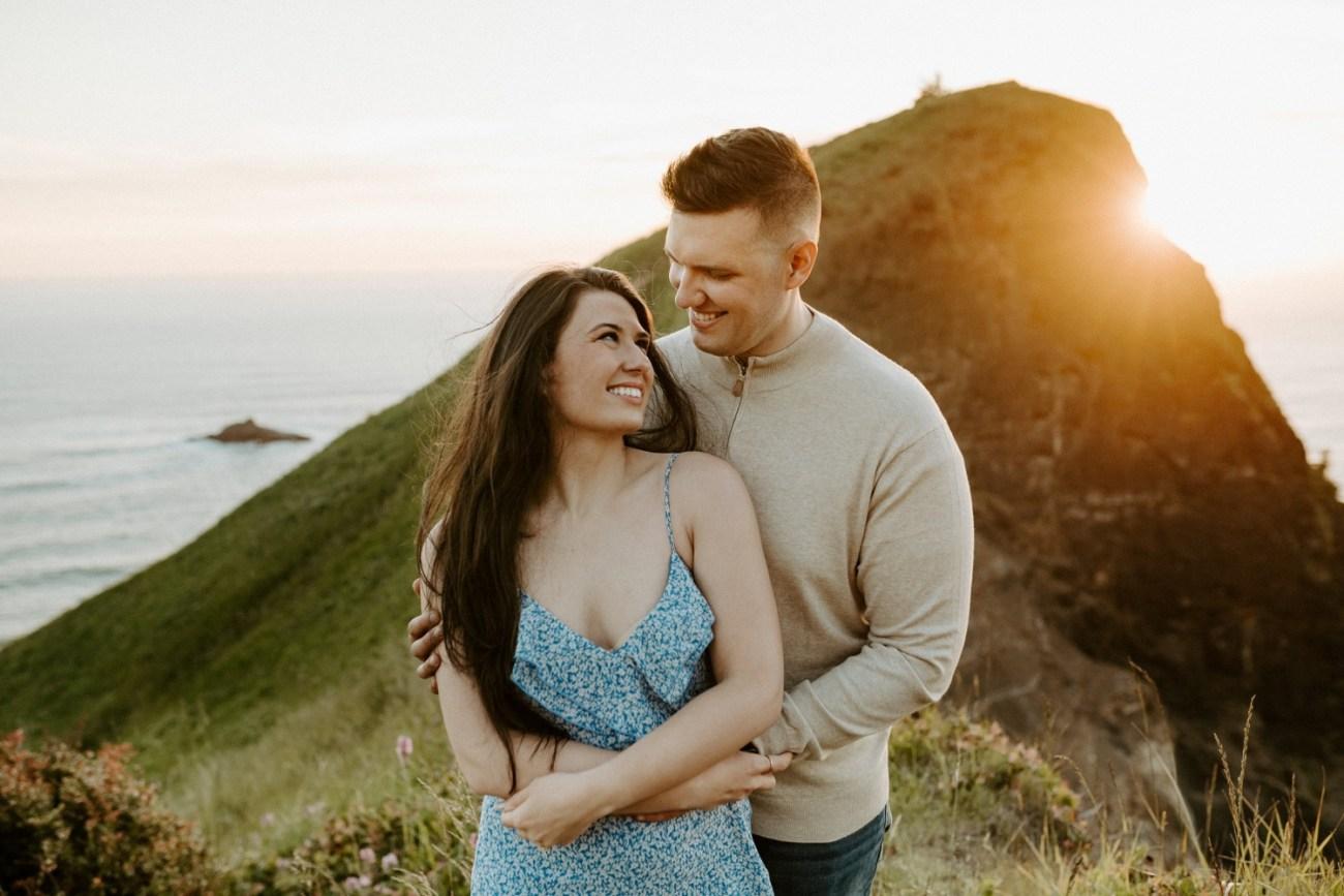 Oregon Coast Gods Thumb Engagement Session Bend Oregon Wedding Photographer Anais Possamai Photography 40