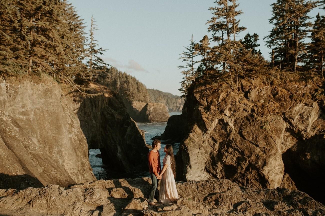 Oregon Coast Samuel H Boardman Engagement Session Anais Possamai Photography 01