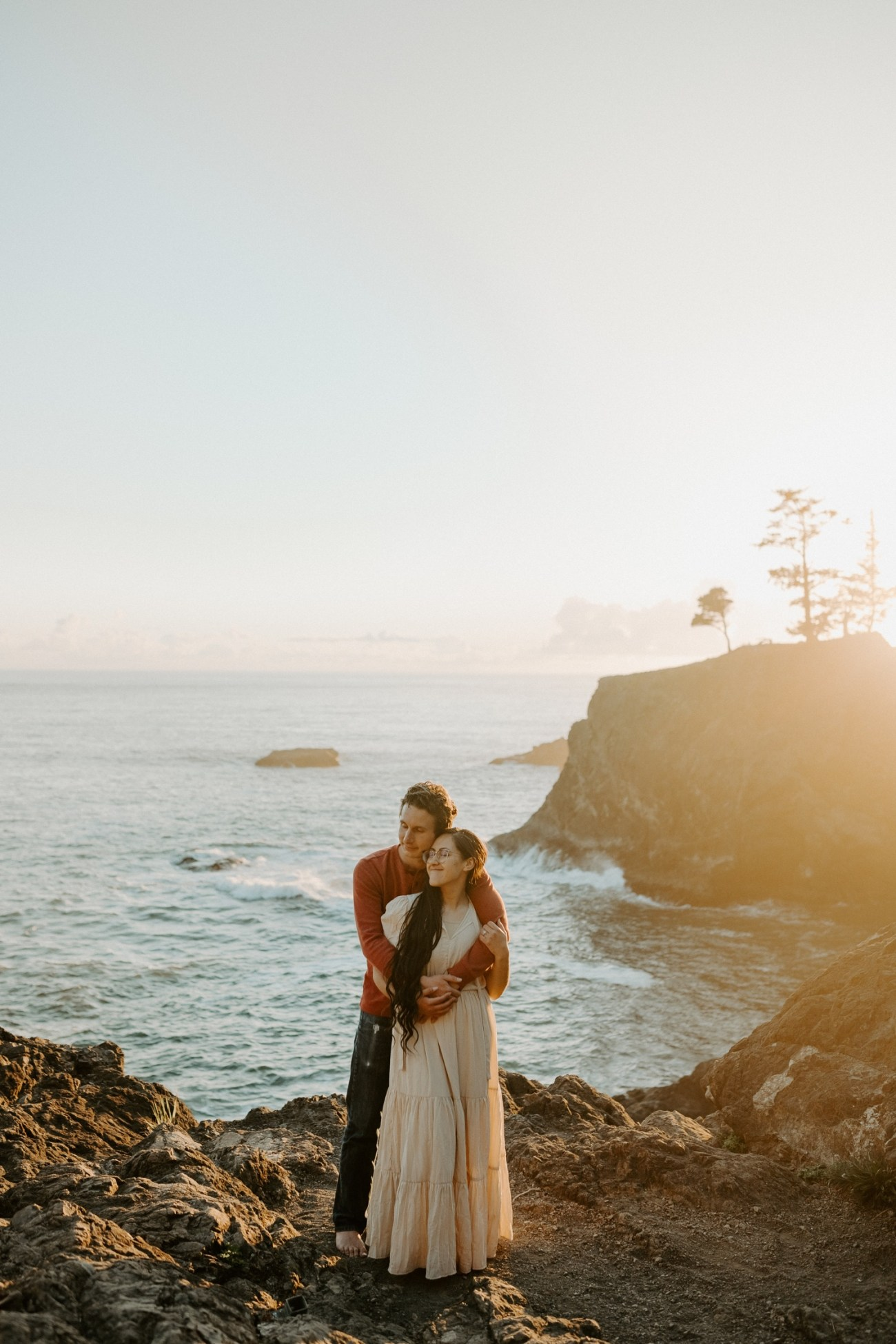 Oregon Coast Samuel H Boardman Engagement Session Anais Possamai Photography 13