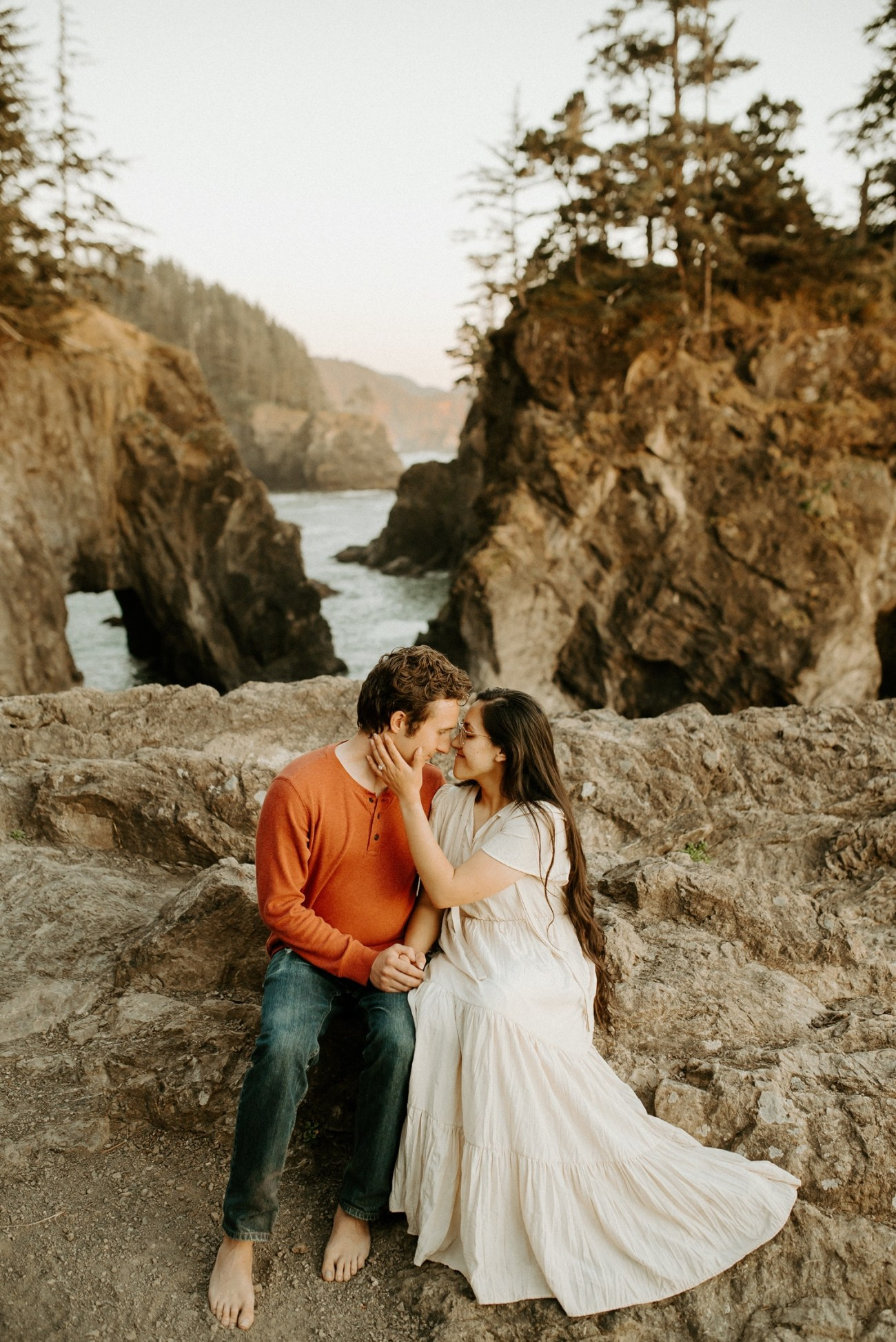Oregon Coast Samuel H Boardman Engagement Session Anais Possamai Photography 22