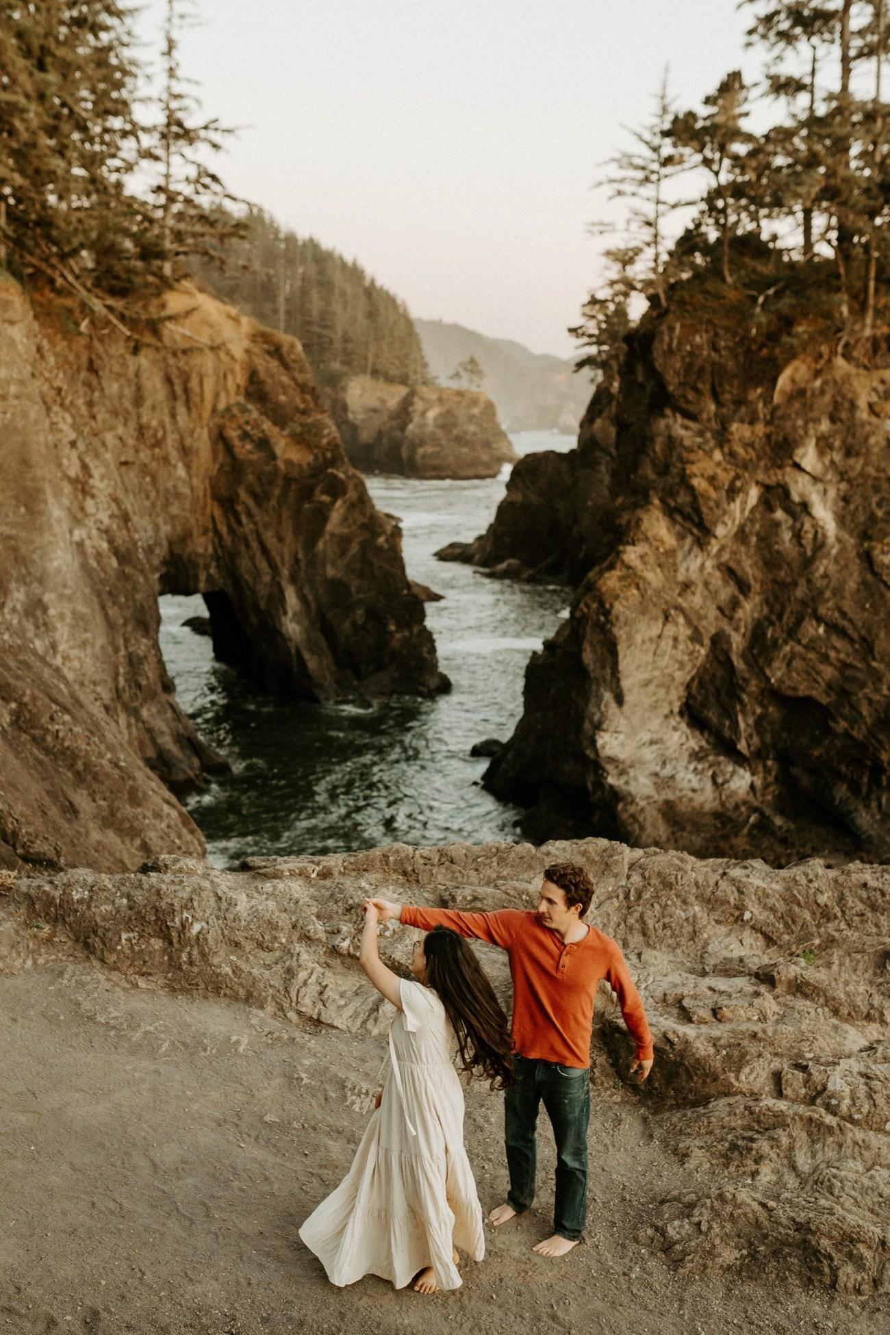 Oregon Coast Samuel H Boardman Engagement Session Anais Possamai Photography 24