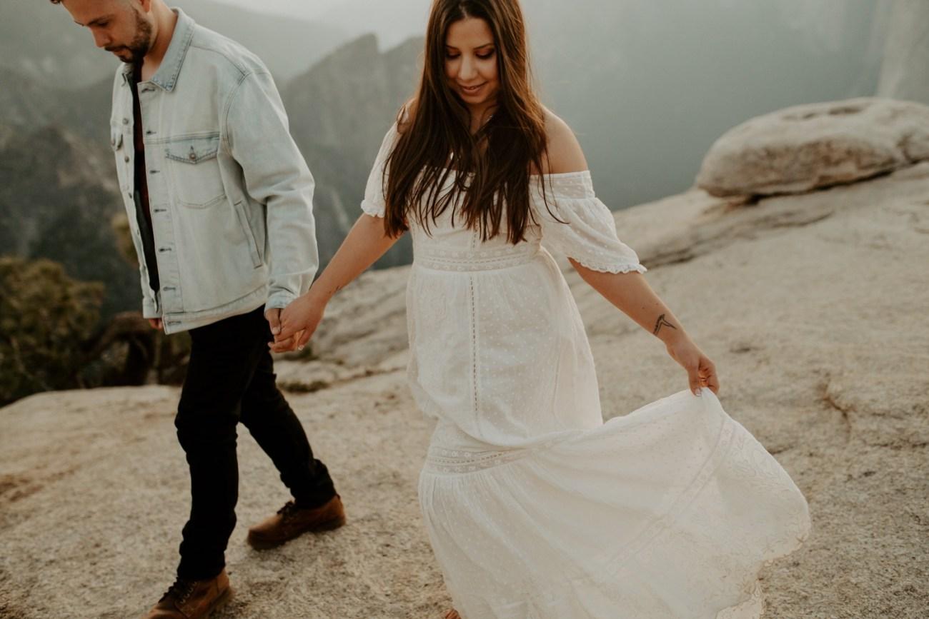 Yosemite Taft Point Engagement Session California Wedding Photographer Anais Possamai Photography 43