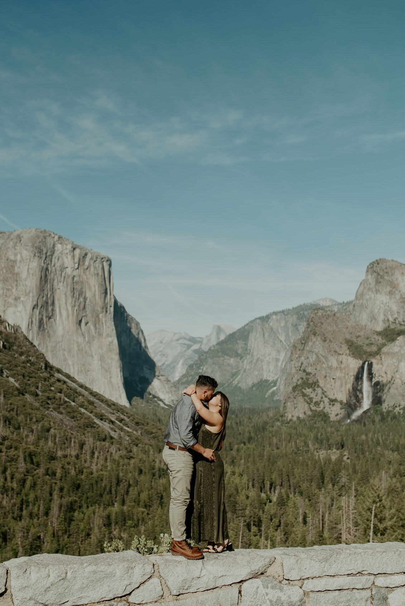 Yosemite Tunnel View Engagement Session Yosemite Wedding Photographer Anais Possamai Photography 04