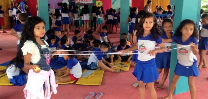 Projeto Recreio Legal da Escola Roseli Paiva