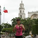Enjoying the sites in Merida