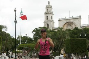 Enjoying the sites in Merida