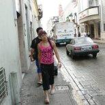 Walking on the streets of Merida