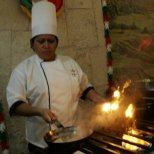 Freshly cooked meals in Merida