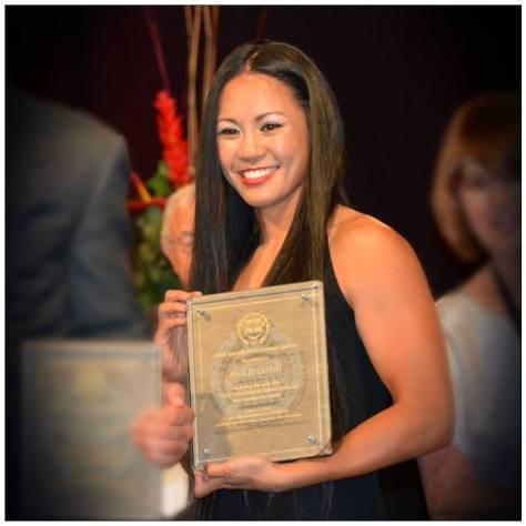 Ana Julaton Nevada Boxing Hall of Fame