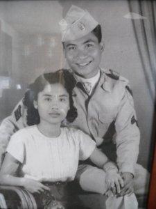 Grandpa Army Grandma