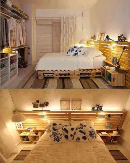 ξύλινη-παλέτα-κατασκευη-κρεββατι