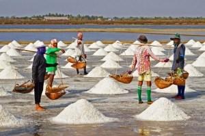 asal garam dan rasa asin air laut