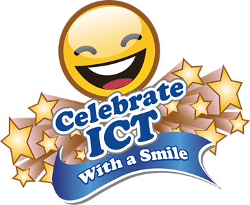 ICT WITH A SMILE LOGO RGB
