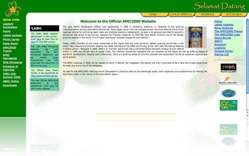 APEC 2000 Brunei Darussalam