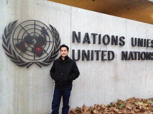 At the United Nations, Geneva