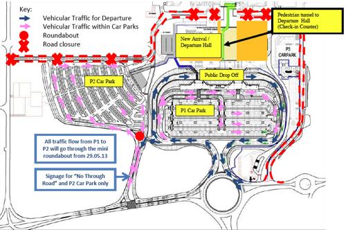 Public Vehicular Traffic Flow (Departure)