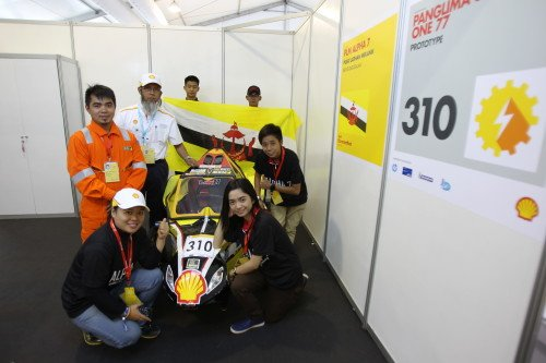 Team PLM Alpha 7 were proud and delighted after passing their Technical Inspection