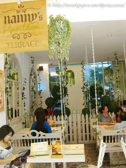 Nannys Pavillon Terrace at Central Park Mall  ANAKJAJANCOM