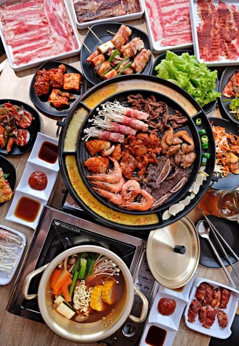 All You Can Eat Kelapa Gading : kelapa, gading, SSIKKEK, KOREAN, BUFFET, Jakarta, ANAKJAJAN.COM