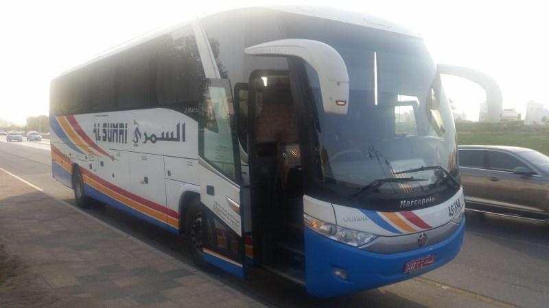 Perjalanan Menaiki Bas Nizwa-Muscat