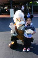Karakter Disney, Gepetto, Pinocchio's Father, Tokyo Disneyland, Disney Cartoon Characters