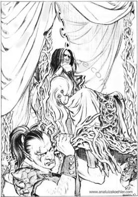 Book illustration for Midgard-Online Editions (FM01)