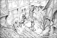 Book illustration for Midgard-Online Editions (FM04)