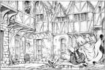 Book illustration for Midgard-Online Editions (FM07)