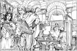 Book illustration for Midgard-Online Editions (FM08)