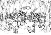 Book illustration for Midgard-Online Editions (KS05)