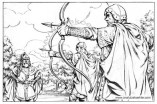 Book illustration for Midgard-Online Editions (WW02)