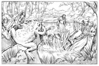 Book illustration for Midgard-Online Editions (WW11)