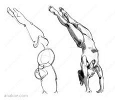 Pose construction based on skeleton sketch (05).