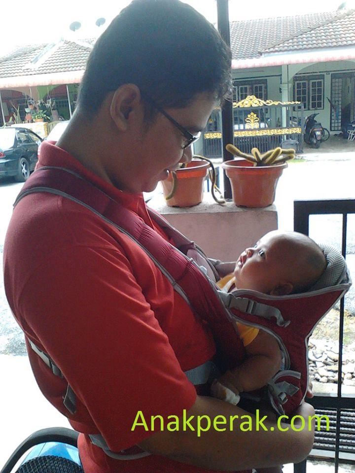 Afiq Hazim masa umur 2 bulan - Julai 2013