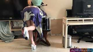 Stepmom gets stuck while sneaking out and fucks stepson to get free – Erin Electra