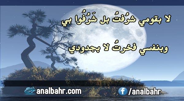 أبيات شعر للمتنبي عن عزة النفس عش عزيزا أو مت وأنت كريم