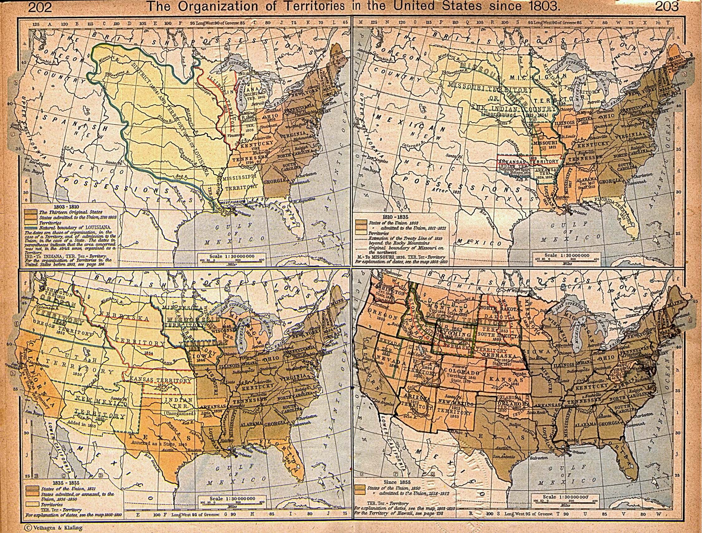 The Spatialization Of History Americas