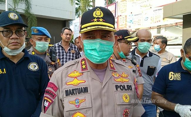 Ledakan Di Ramayana Irjen Martuani Ada Kompos Gas Bocor