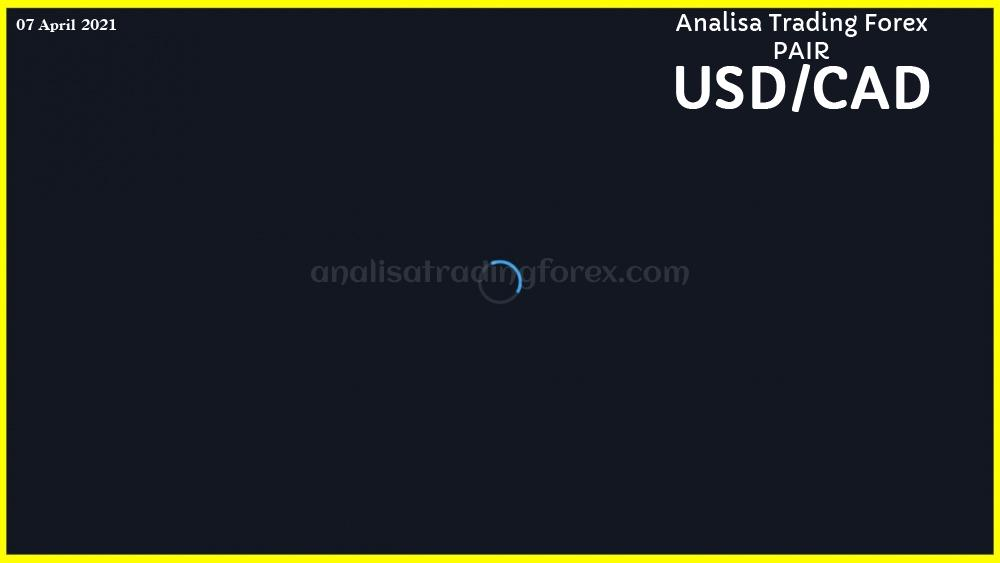 Analisa Simple USDCAD Hari Ini 07 April 2021 - AnalisaTradingForex.com