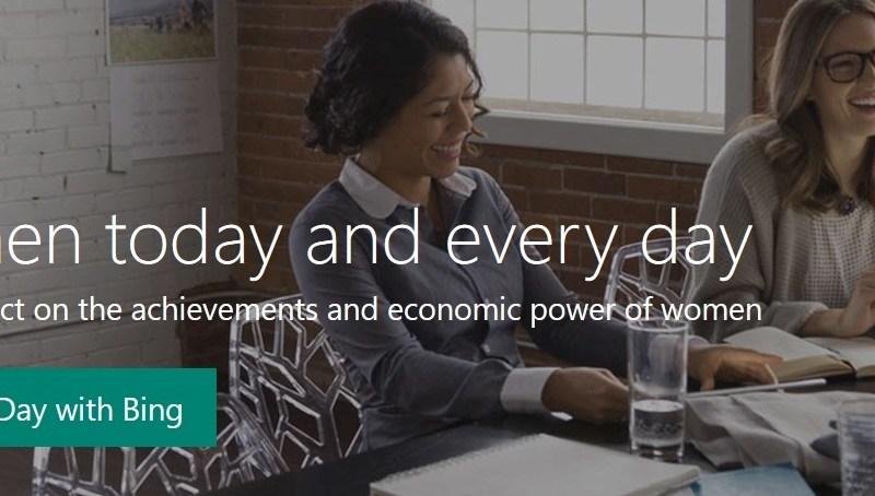 international womens day homepage hero