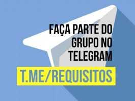 Grupo Análise de Requisitos no Telegram