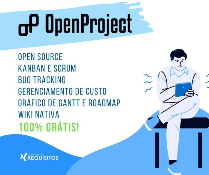 OpenProject é uma poderosa ferramenta opensource para o gerenciamento de projetos, oferecendo uma infinidade de recursos avançados para a gestão do projeto.