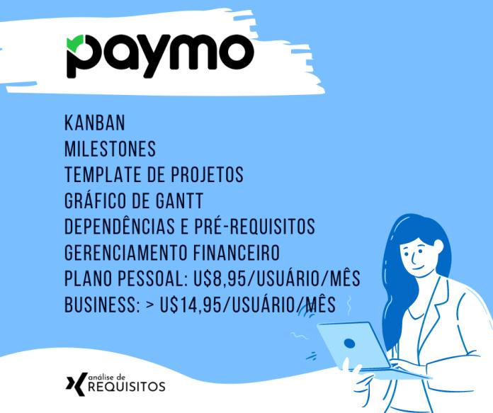Paymo é um excelente sistema para gerenciamento de projetos e atividades especializado em freelancers.