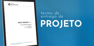 Termo de aceite de entrega do projeto