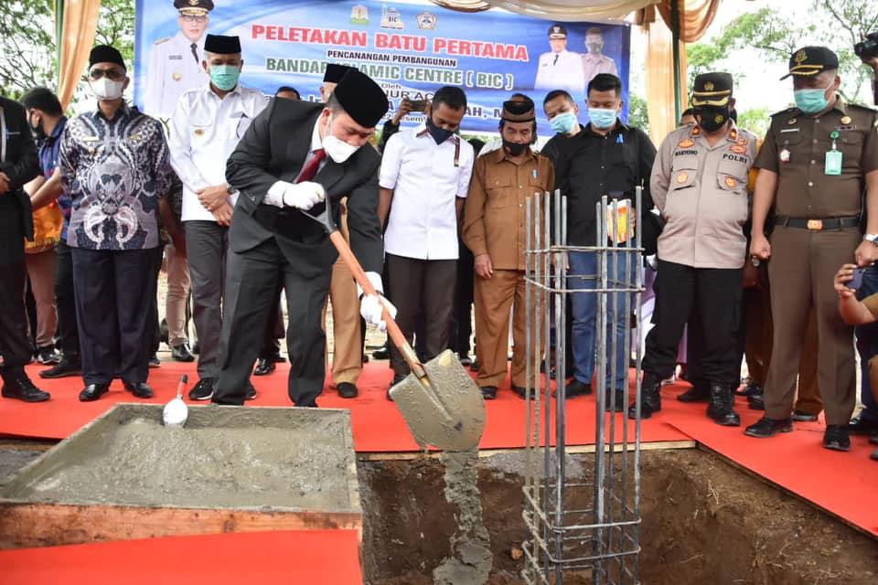 Didirikan Bandar Islamic Centre, Gubernur Aceh Berharap Bisa Menyongsong Islam di Bener Meriah